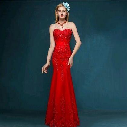 Red Mermaid Sweetheart Page..