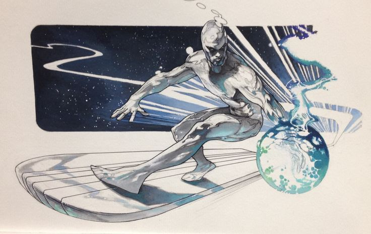 Silver Surfer by Simone Bianchi *