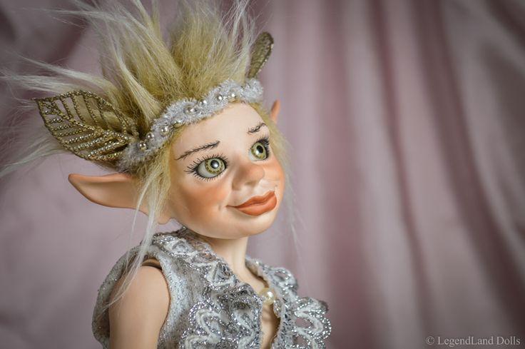 BJD boy face. Fantasy art doll, OOAK doll by LegendLand Dolls.