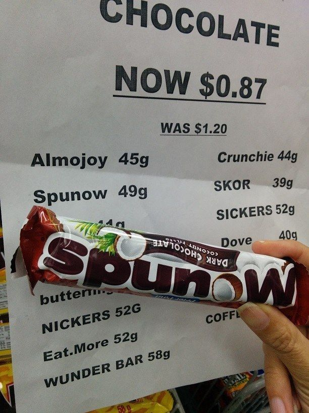 You had one job - The person who priced this delicious bar of spunow. | 26 People Who Failed Harder Than You Ever Thought Possible