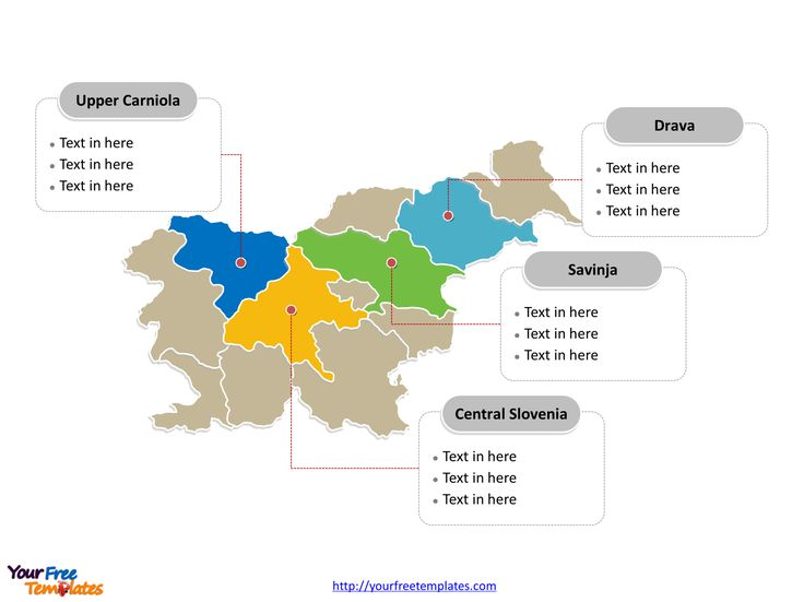 Immediately free download Editable Slovenia outline and political map in Editable format. No registration needed.