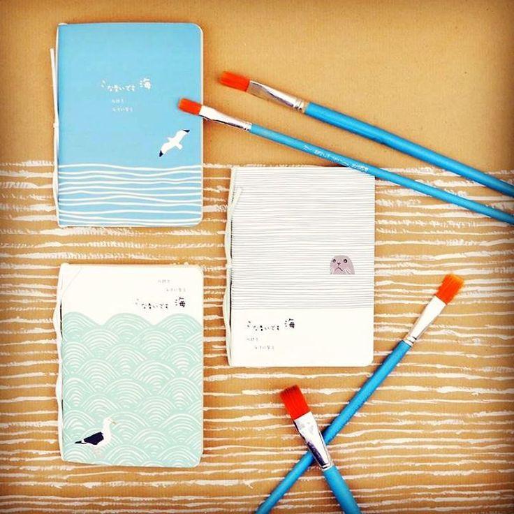 Paint art    notebook booklet ocean paper szputnyik shop