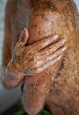 Home made body scrub ~ Σπτιτικό απολεπιστικό σώματος