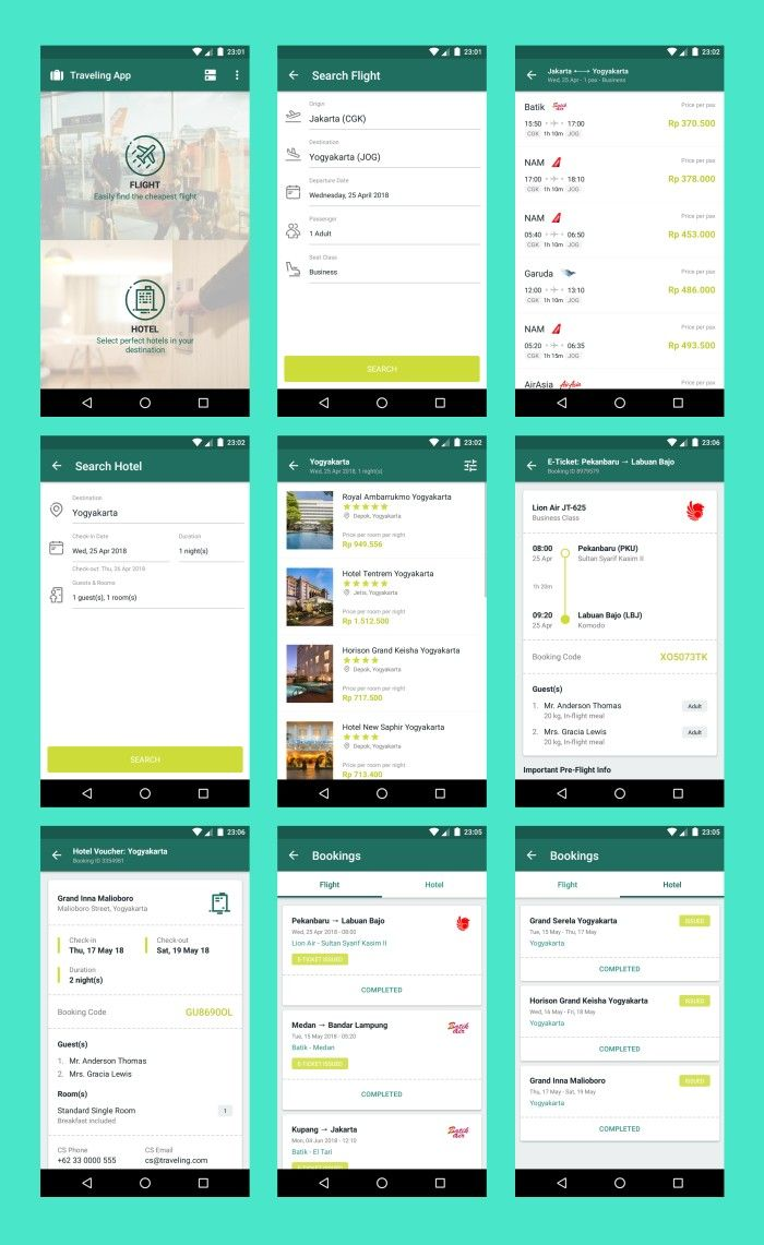 Travel App Android Material Design Materiadesign Travel
