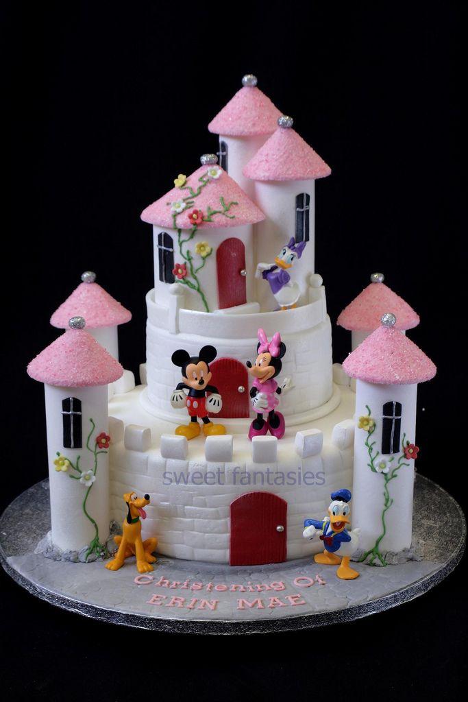 Castle Christening Cake | by www.sweetfantasies.co.uk