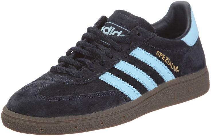 Adidas Spezial - Zapatillas de deporte de cuero para hombre, color azul (blau / dark navy / argentina blue / gum), talla 41.3