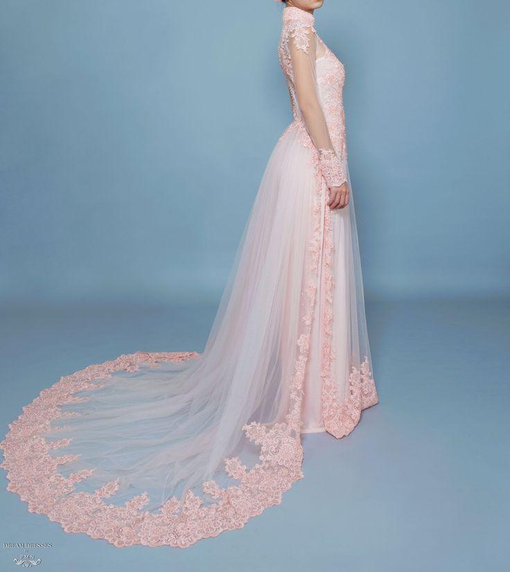 Blush Ao Dai- Vietnamese Bridal Dress with Embellishment (#TALA)
