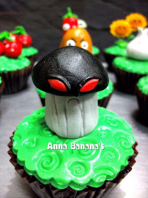 Plants vs Zombies doom shroom by anna_bananna72, via Flickr