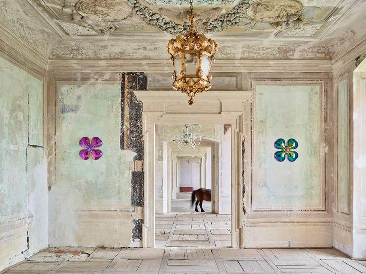 Daniel Piršč / 3D porcelain wallpaper / Changing Gallery January - March 2017