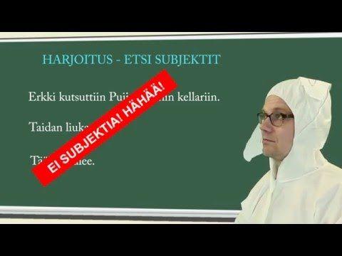 Koulujänis ja lauseenjäsenet - YouTube