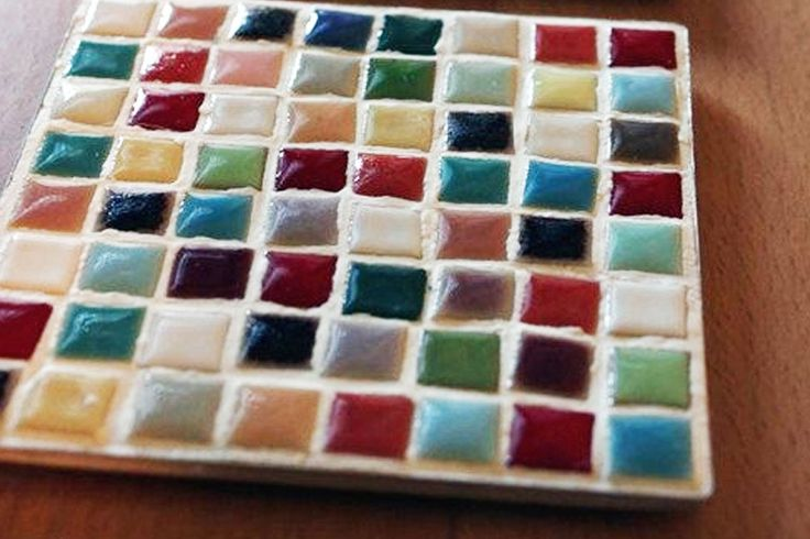 DIY Petite Mosaic Trivets    - Darby Smart