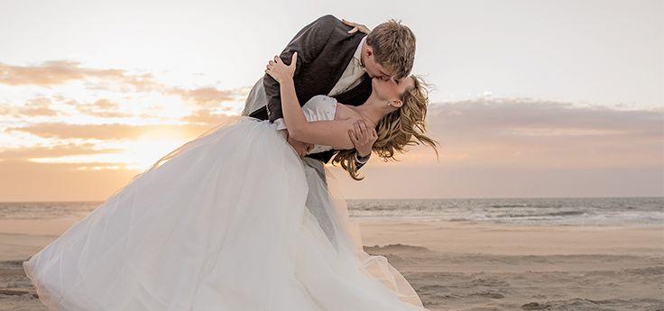 #Beachwedding #trouwen op het strand #