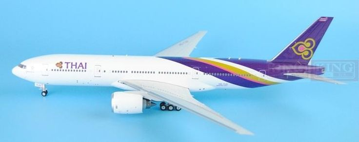 213.50$  Buy now - http://ali7sn.worldwells.pw/go.php?t=32597072461 - Eagle 200010 Thailand HS-TJV Airlines 1:200 B777-200ER commercial jetliners plane model hobby 213.50$