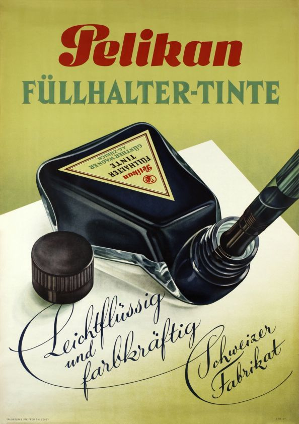 Pelikan Füllhalter-tinte.