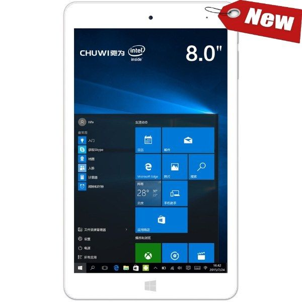 "Chuwi Hi8 Pro 8"" Intel 64bit Windows 10+ Android (32GB)"