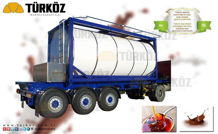 Türköz Machinery Container Type Food Transportation Tanker (Glucose / Chocolate) / Türköz Makina Konteyner Tip Likit Gıda Taşıma Tankeri (Glikoz / Çukolata) - #glikoz #glukoz #glucose #liquid #food #transport #tanker #gida #gıda #taşıma #tankeri #transportation #container #type #konteyner #tip #chocolate #cukolata #cikolata #turkoz #turkey #dairy #product #dairymachines - www.turkoz.com.tr