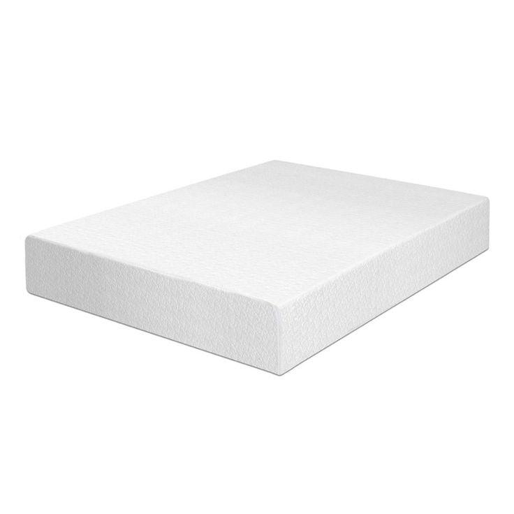 "Best Price Quality 10"" Memory Foam Mattress and Base Foundation Set"