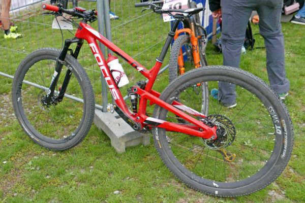 Pro Bike Checks: XC World Cup's fastest, 2nd place Spitz's WiaWis prototype mountain bike, plus Indergand's Focus O1E - Bikerumor