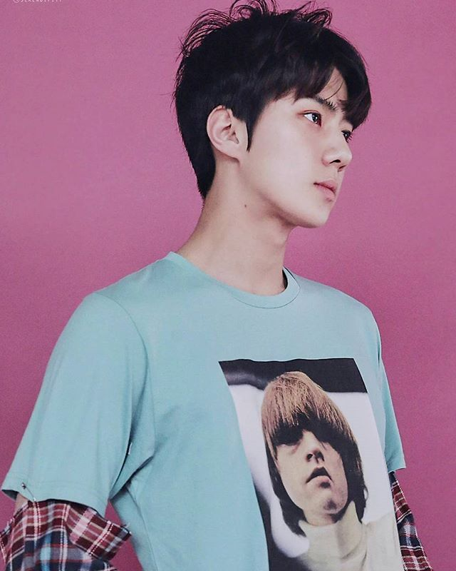 160701 [SCAN] EXO goods 'Lucky One' photo set of SEHUN #AdminNJ ____ Cr…