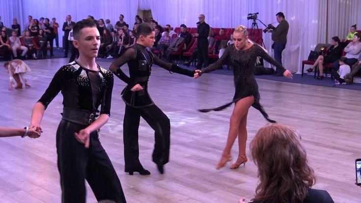 WDSF Bucharest Grand Ball* MARIA SI COSMIN*Final Latino Junior II
