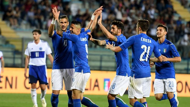 Italy 8-0 San Marino: Lapadula the star