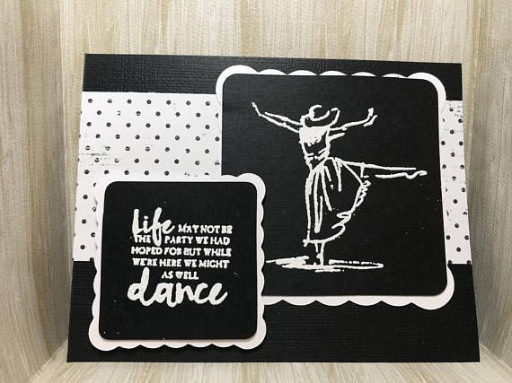 Life Might Not Be The Party We hoped For Card//Handmade Card
