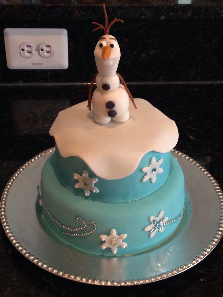 Frozen Birthday Cakes Sam