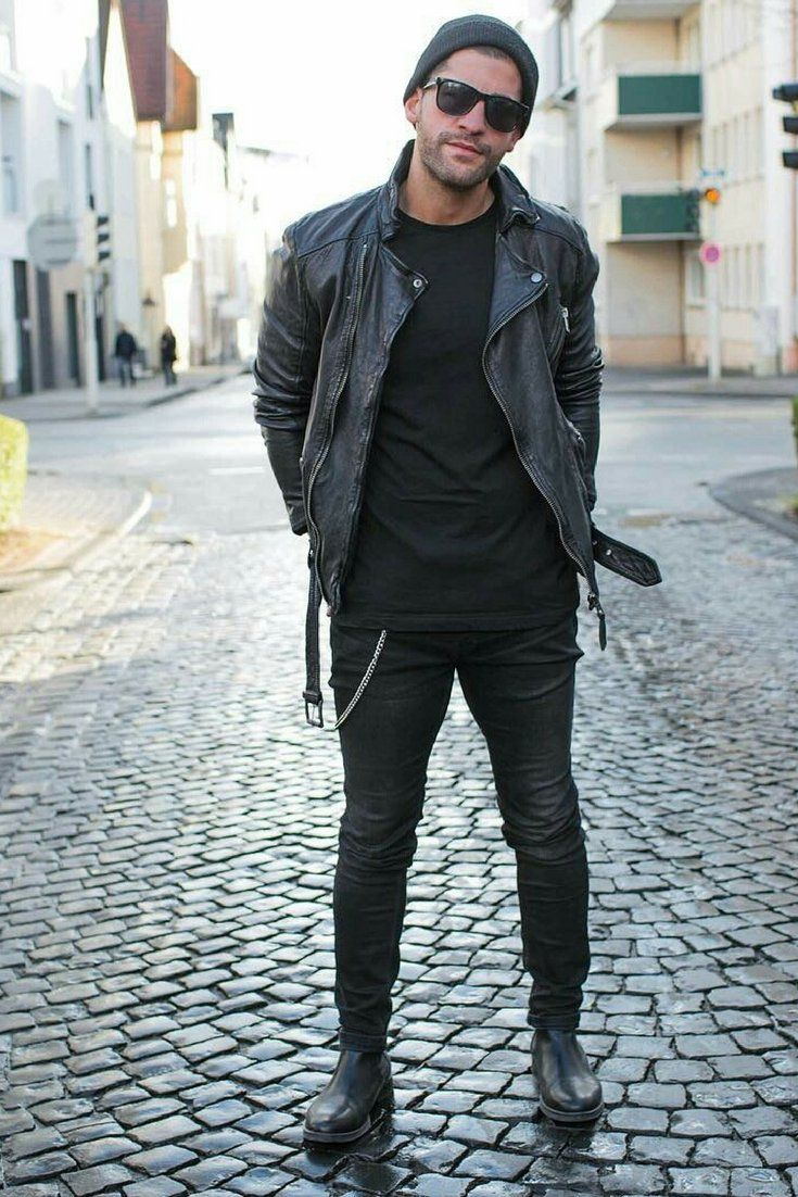 14 Coolest All Black Casual Outfit Ideas For Men in 2020