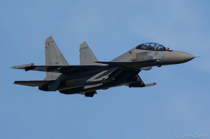 """Royal Malaysian Air Force Sukhoi Su-30MKM """"Flanker-H"""" at Langkawi IAP"""