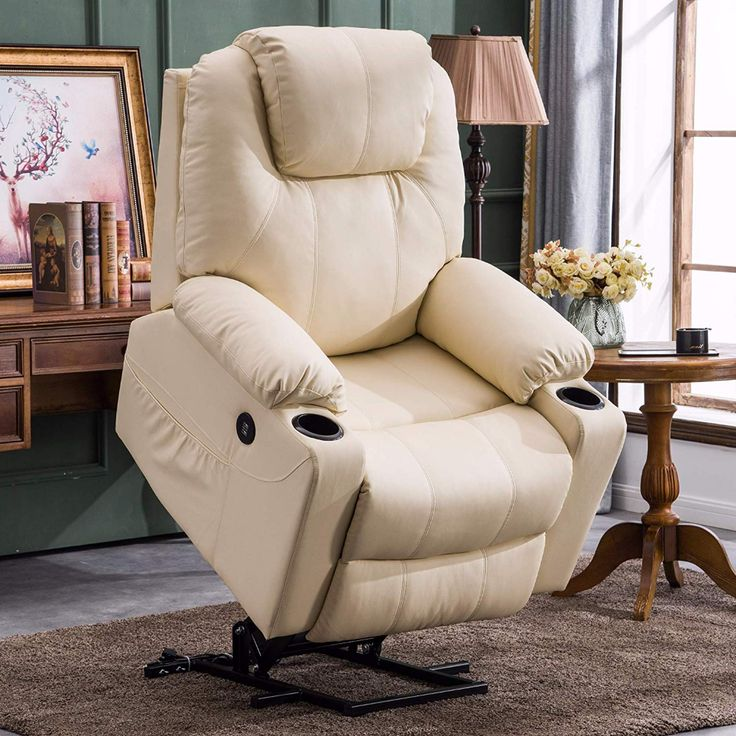 Electric power lift recliner chair sofa