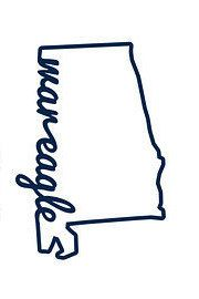 War Eagle State of Alabama Auburn Decal by TacoMonday on Etsy https://www.etsy.com/listing/235770211/war-eagle-state-of-alabama-auburn-decal