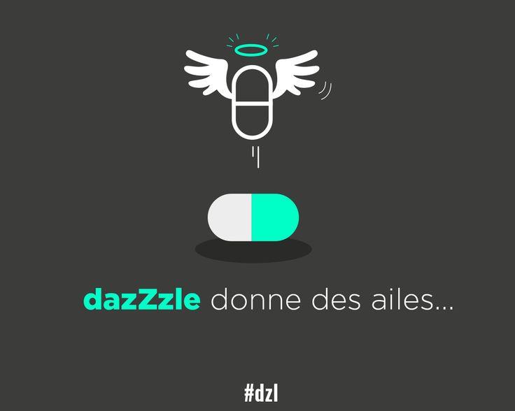 [DÉTOURNEMENT] dazZzle, donne des ailes ! #dzl #pub #redbull #veille #détournement #ad #illustration #slogan #publicitaire