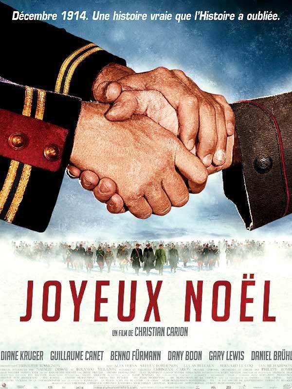 Joyeux Noël est un film de Christian Carion. Les fraternisations de Noël 1914.