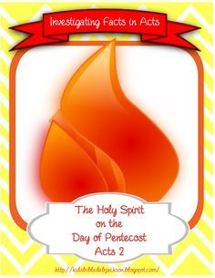 Bible Fun For Kids: The Holy Spirit on the Day of Pentecost