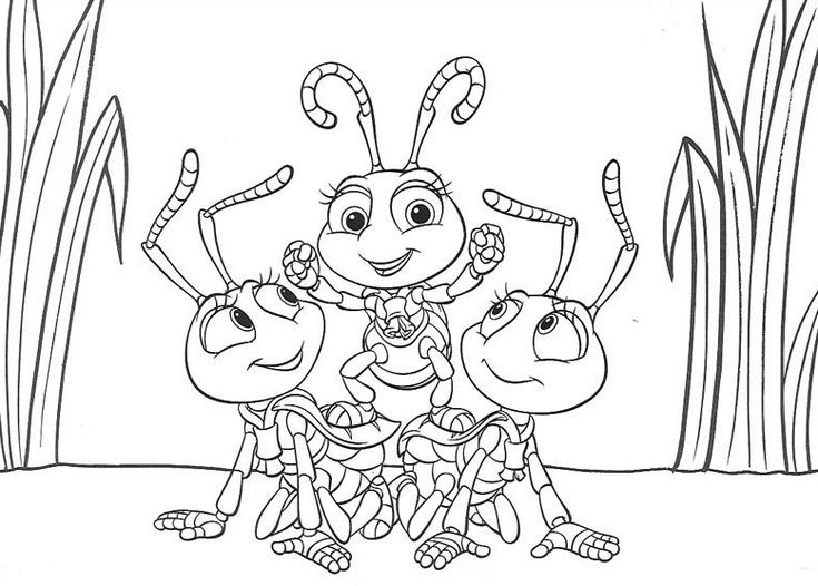 96 best a bugs life coloring pages images on Pinterest | Bugs ...