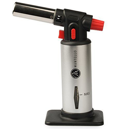 The Mantello Ultimate Multi-Purpose Butane Torchh provides all the power and dependability. Butane is not Included. The Torch operates with a standard butane canister. Scroll up to order now!  - http://kitchen-dining.bestselleroutlet.net/product-review-for-mantello-ultimate-multi-purpose-butane-torch-culinary-torch-creme-brulee-torch-food-torch-cooking-torch-cooking-blow-torch-blow-torch/