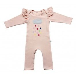 Alex and Ant Happy Rain Onesie- Pink