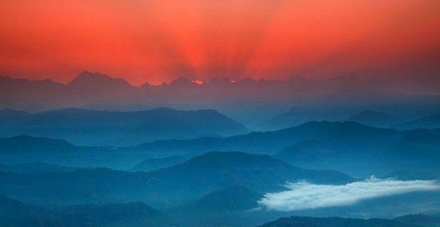 Nagarkot, Nepal by Anton Jankovoy