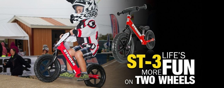 Strider(TM) ST-3 No Pedal Balance Bike