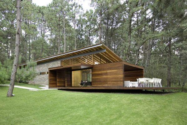 Diseño de Interiores & Arquitectura: Fin de Semana Casa de Campo en México: Visualización de una Personalidad Arquitectónica Fuerte.