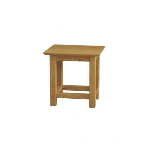 Canterbury Solid Oak  MNT35 Side Table