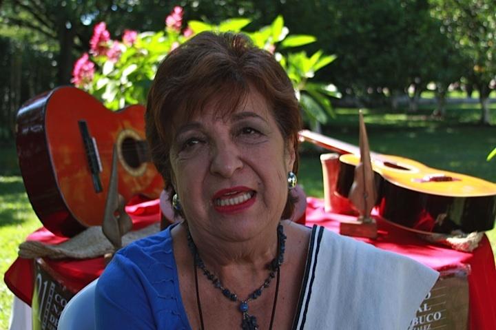 Tulita Gómez, alma y nervio del Concurso Nacional de Bambuco. Crédito Milton Ramírez (@FOTOMILTON) MinCultura 2012.
