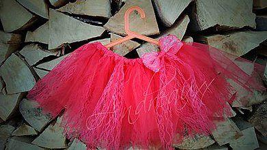 Detské oblečenie - Tutu suknička