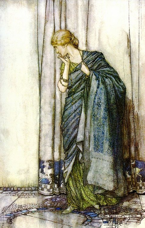 Elena by Arthur Rackham (from 'A Midsummer's Night Dream')