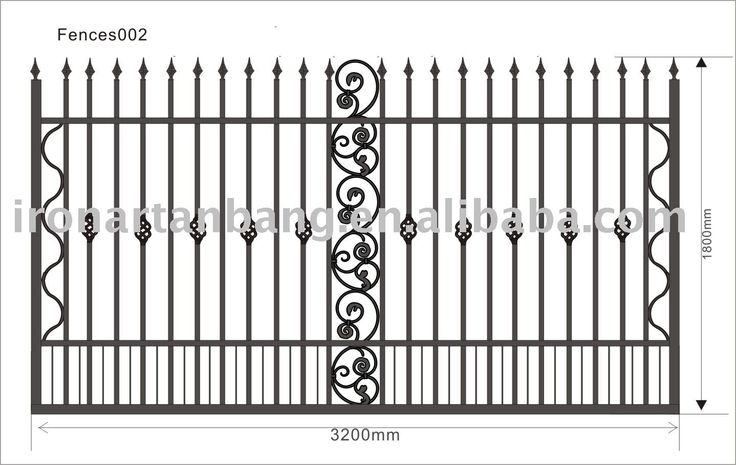 12 best portoes images on pinterest wrought iron doors for Indoor fence design