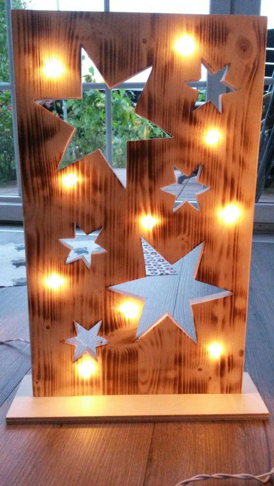 Weihnachten Bilder Bearbeiten.Holz Bearbeiten Sie Leicht Zu Gemütlichen Winterdekorationen Für Im