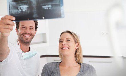 imagen para Hasta 81% off en 1, 2 o 3 implantes de titanio + coronas dentales
