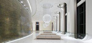 Intérieur du Palais du Président, Tashkent (Ouzbekistan) #palais #luxuryhome #luxe #moulure #corniche #led