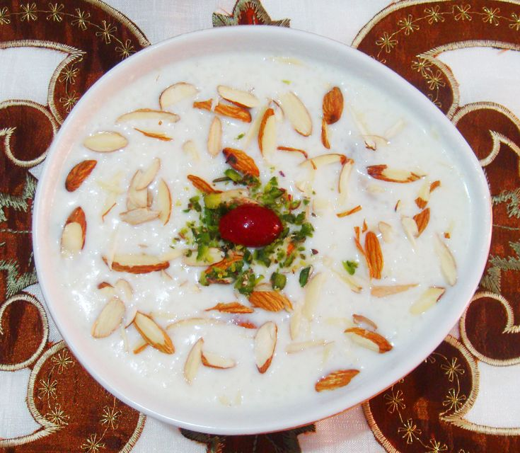 Rice Kheer/Indian Rice Pudding/Chawal ki kheer