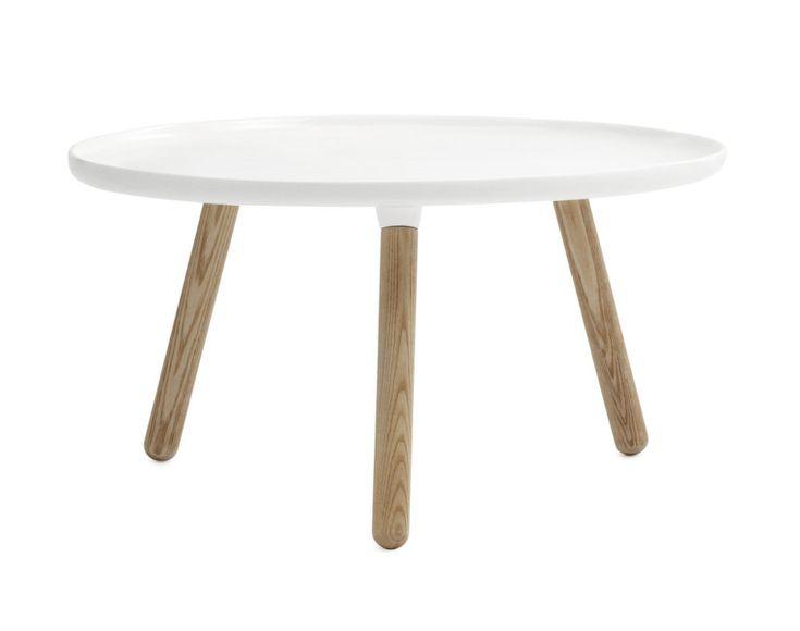 Stolek Normann Copenhagen Tablo Table velký bílý